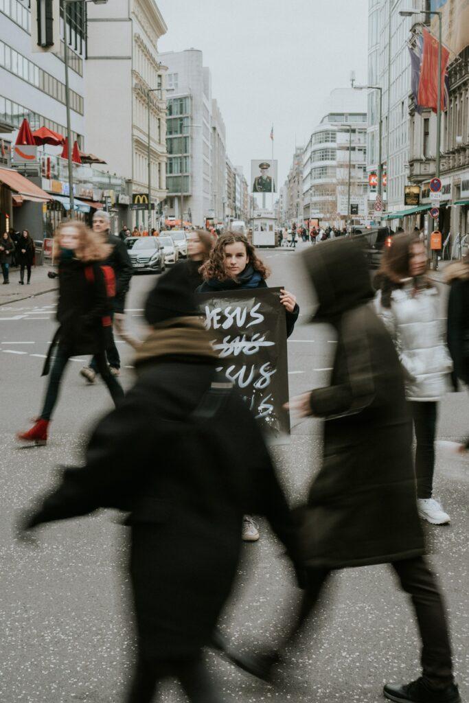 ewangelization on the street